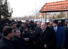 Georgian President visits Azerbaijan`s Gakh District