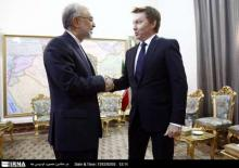 Iranian FM A.A.Salehi meets with outgoing ambassador of Australia M.E.Brown