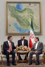 Iranian President Receives Turkish Development Minister 