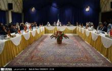 President Ahmadinejad meets with culture ministers of the Asian Cooperation Dial
