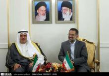 Iran-Kuwait Officials Meet