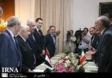 Iran-Syria Fms Discuss Syrian Developments