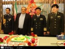 Chinese Navy Commander Stresses Expanding Ties With Iran